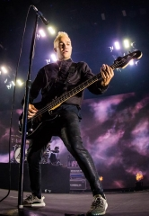 Fall Out Boy and Wiz Khalifa perform at Mandalay Bay Events Center at Mandalay Bay Hotel & Casino
