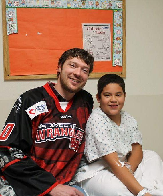 Joe Fallon visit patients