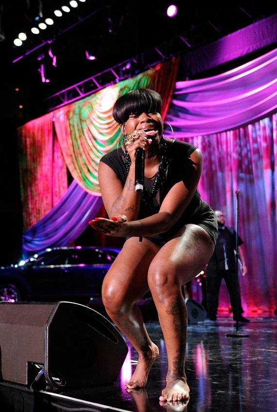 Fantasia at 8th Annual Ford Hoodie Awards