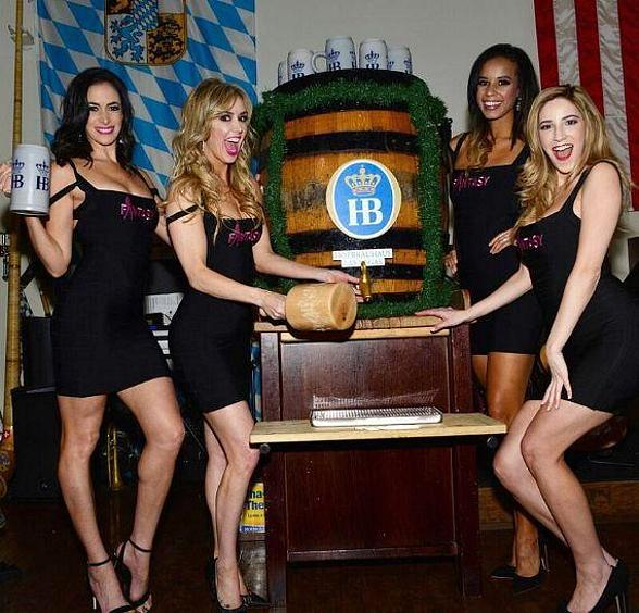 Hofbräuhaus Las Vegas Celebrates Final Weekend of Oktoberfest with Celebrity Keg Tappers Ladies of Fantasy and Australian Bee Gees