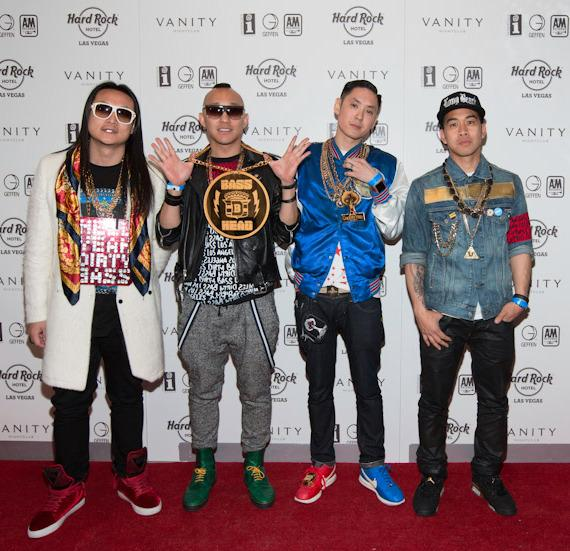 Far East Movement at Vanity