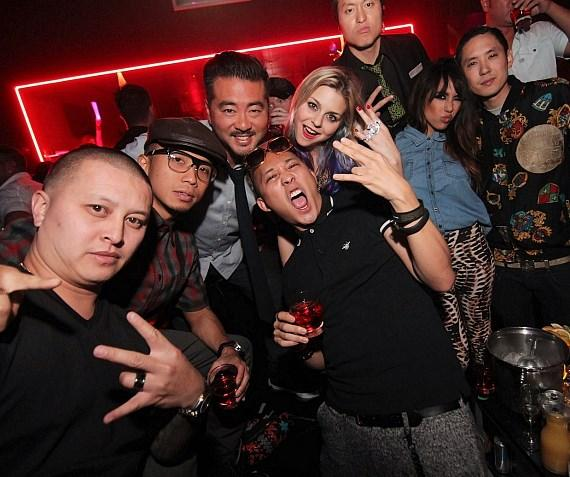 Far East Movement at Rain Nightclub