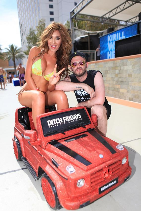 Farrah Abraham and Kirill Was Here