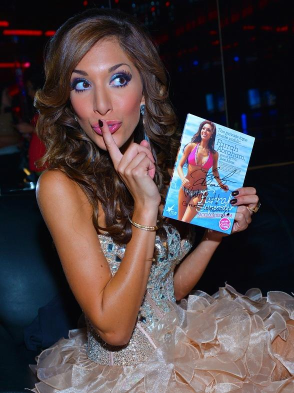 Reality Star Farrah Abraham Parties at Crazy Horse III Gentlemen's Club in Las Vegas