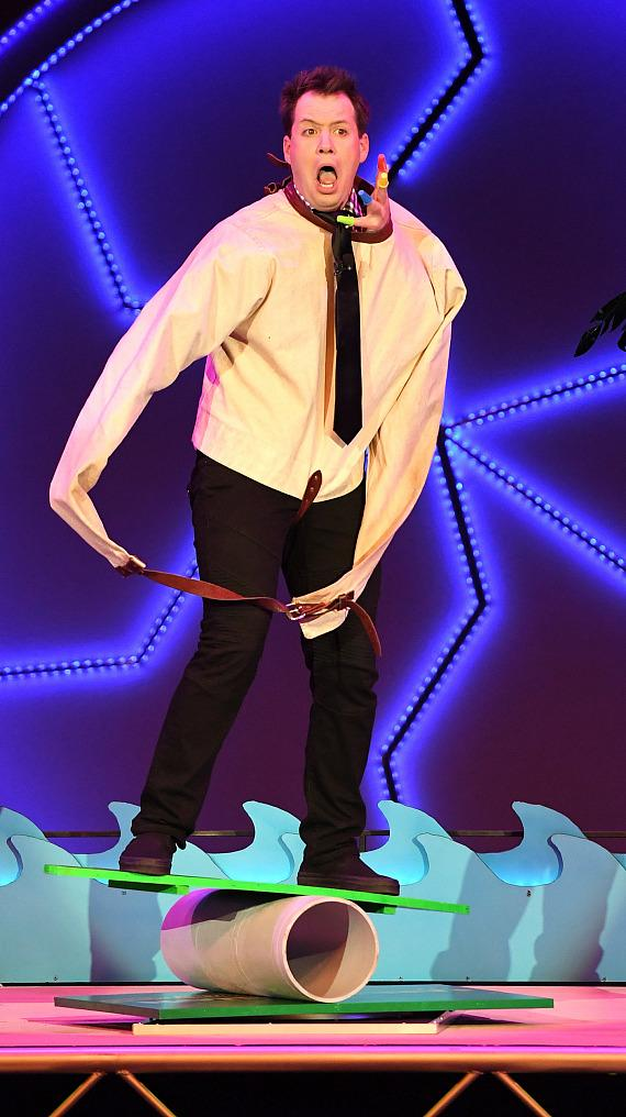Farrell Dillon in Masters of Illusion at Bally's Las Vegas