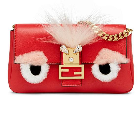 Fendi Special Capsule Collection Micro Peekaboo Bag