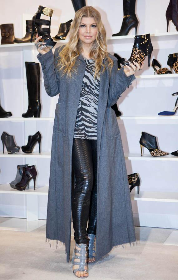 Pop Singer Fergie stops by FN Platform at Magic Market Week to promote her new Fergie Footwear Collection