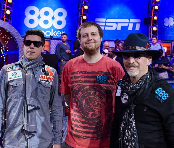 World Series of Poker Main Event Final Table Down to Final Three; Play Resumes Tuesday at 6pm