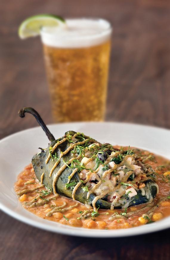 California Pizza Kitchen Chile Relleno