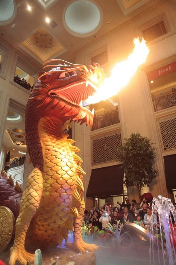 The Strip's Top Chinese New Year Attraction Comes to Life at The Palazzo Las Vegas