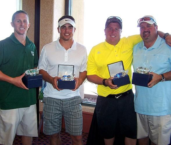First place team in the 5th Annual CSN Foundation Golf Classic (l to r) Gary Jaramillo, Eric Fitzsimmons, Chuck Jaramillo and Don Barris