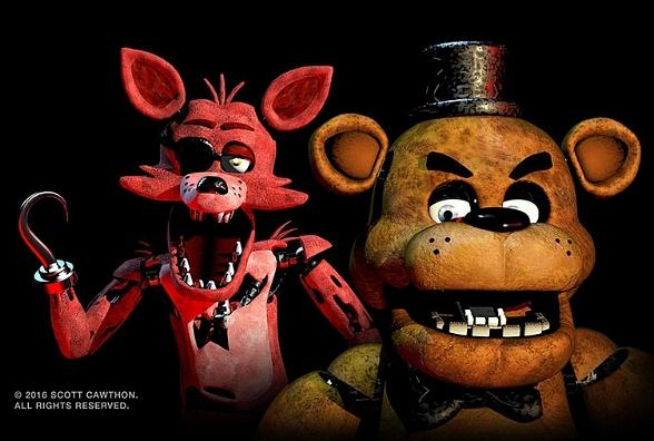 "Fright Dome at Circus Circus launches a ""Five Nights at Freddy's"" themed attraction this Halloween in Las Vegas"