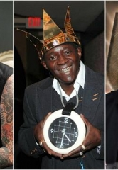 "Meet Rapper Flavor Flav, Tattoo Artist Dirk Vermin and Magician David Goldrake at the 3rd Annual ""Mike Hammer Celebrity Go-Kart Race,"" a Benefit for Veterans on Oct. 22 in Las Vegas"
