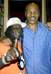 "Rapper Flavor Flav Visits ""Mike Tyson Undisputed Truth – Round 2"" at MGM Grand in Las Vegas"