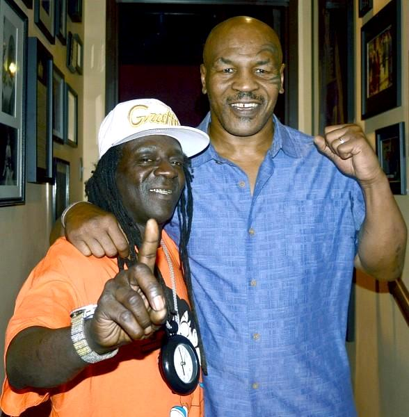 """Rapper Flavor Flav Visits """"Mike Tyson Undisputed Truth - Round 2"""""""
