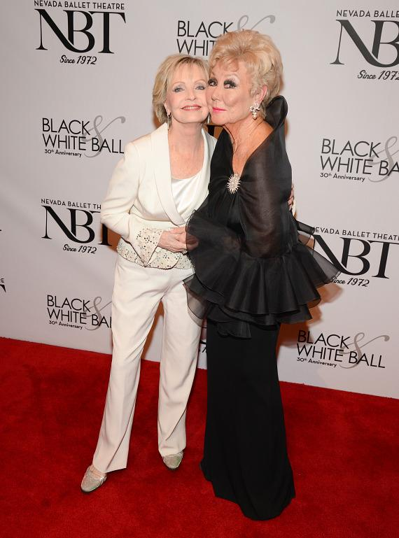 Florence Henderson and Mitzi Gaynor