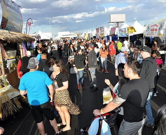 Guests Enjoy Great American Foodie Fest