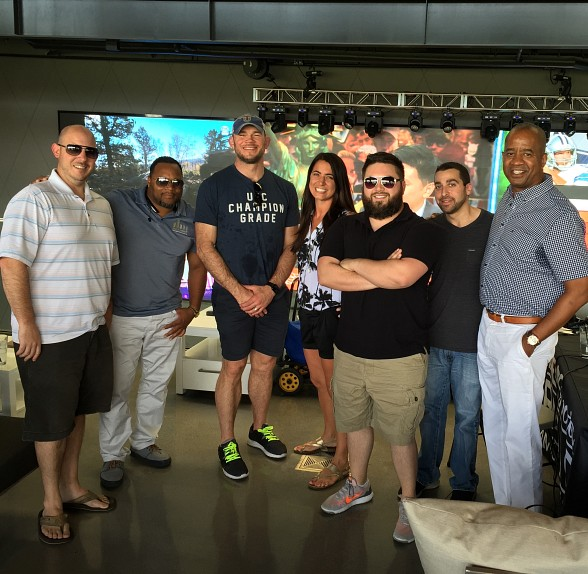 UFC Hall of Famer Forrest Griffin visits Topgolf Las Vegas