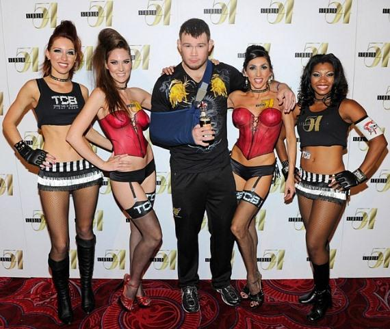 Forrest Griffin on Red Carpet at Studio 54