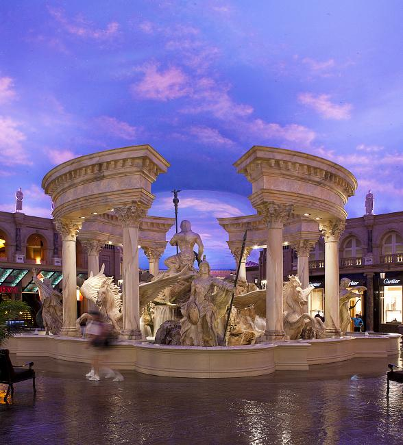 Celebrate The Holidays at The Forum Shops at Caesars in Las Vegas