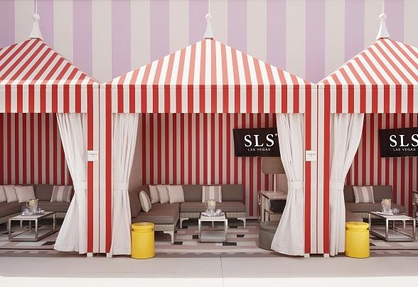 It's Red, White and a Cookout at the Pool Fourth of July Weekend at SLS Las Vegas