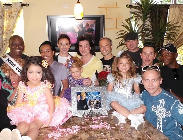 "Frank Marino and the cast of Divas join mini divas from ""Toddlers & Tiaras"" for viewing party of their episode at Something's Brewing Café, Wednesday, June 19"