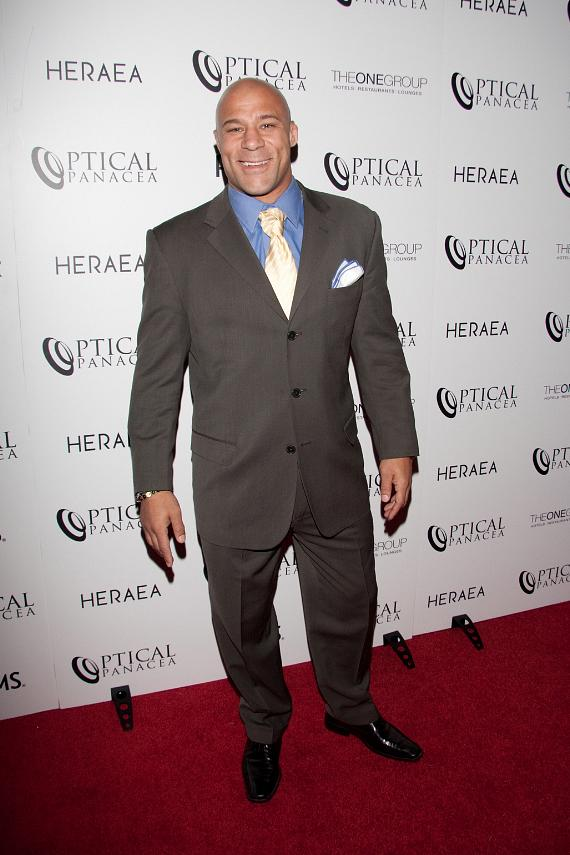 Frank Trigg at Optical Panacea Launch Party at HERAEA Las Vegas