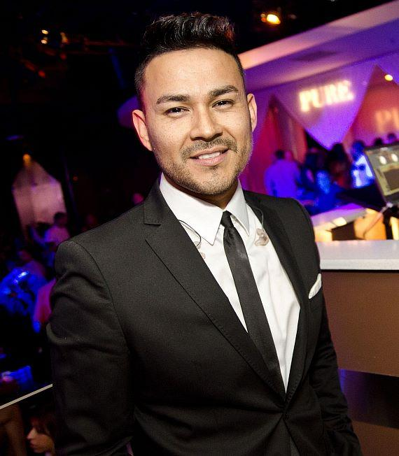 Frankie J at PURE Nightclub