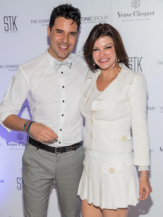 Frankie Moreno and  Chef Carla Pellegrino