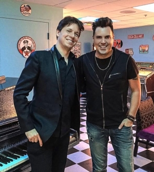"World-Famous Violinist Joshua Bell attends ""Frankie Moreno - Under The Influence"" at Planet Hollywood"