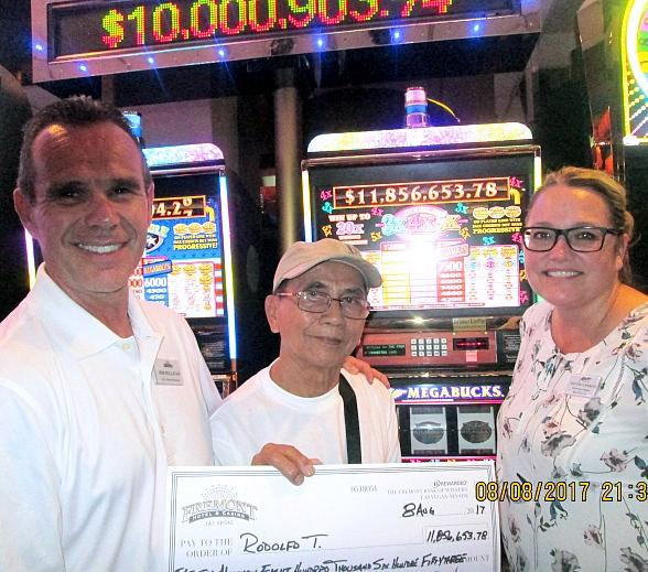 Slot Player at Fremont Hotel and Casino Las Vegas Hits $11.8 Million Megabucks Jackpot
