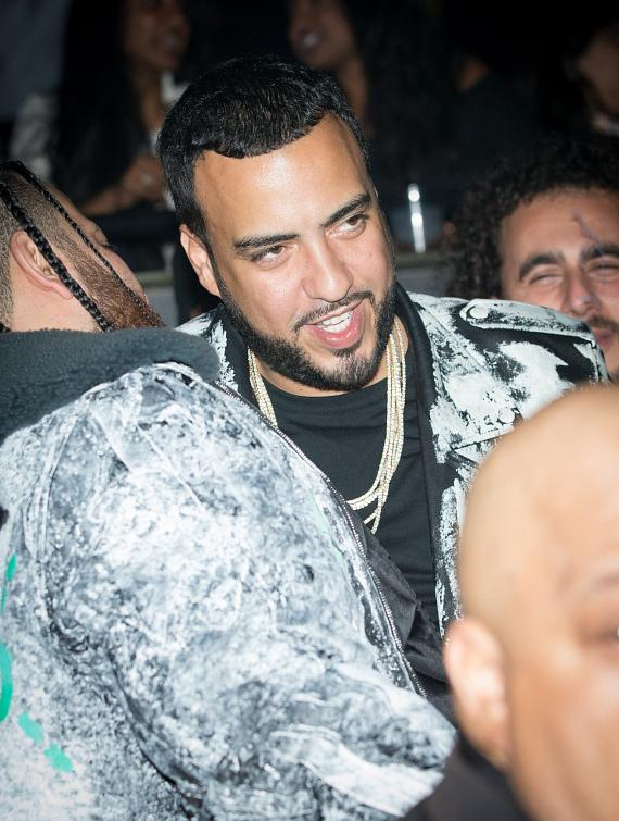 French Montana at The Weeknd show at The Cosmopolitan of LasVegas