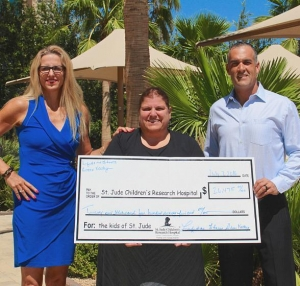 Life Time Athletic Green Valley Raises more than $25,000 for St. Jude Children's Research Hospital