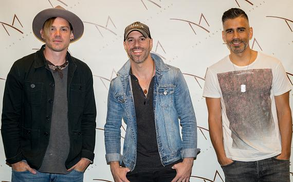 Brian Craddock, Chris Daughtry and Elvio Fernandes kick off M Resort's Summer Concert Series with an Acoustic Trio Show at M Pool on Saturday, May 20