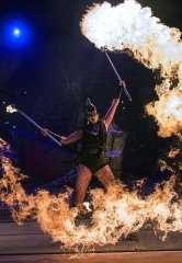 """Inferno,"" The Fire Spectacular, Brings the Heat to Paris Las Vegas"