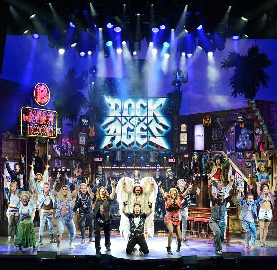 Full Company of Rock of Ages Las Vegas