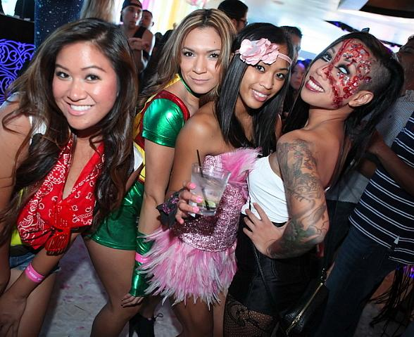 "Ghostbar at Palms Casino Resort Hosts ""Day and Night of the Killer Costumes"" Halloween Party"