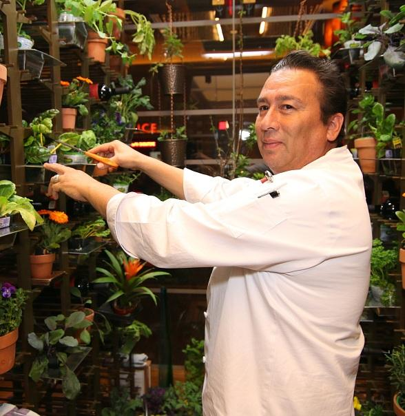 Executive Chef George Jacquez in GRDN