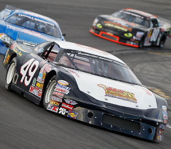 Super Late Model points leader Scott Gafforini