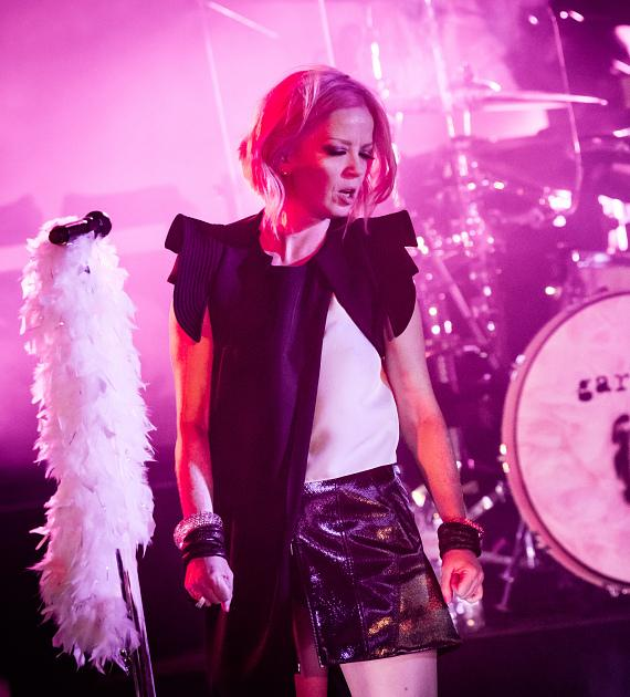 Garbage performs at Boulevard Pool at The Cosmopolitan of Las Vegas