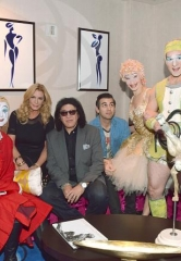 "Rock Legend Gene Simmons of KISS Visits ""O"" by Cirque du Soleil"