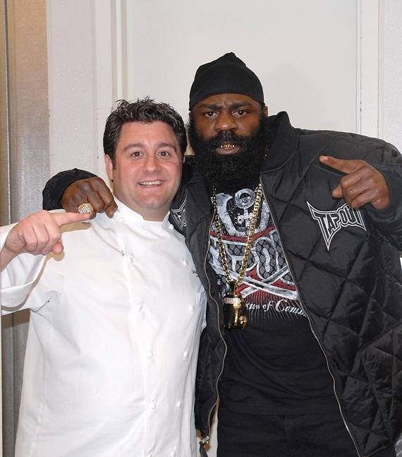 Geno Bernardo and Kimbo Slice