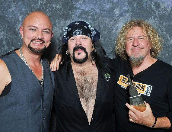 Geoff Tate, Vinnie Paul and Sammy Hagar