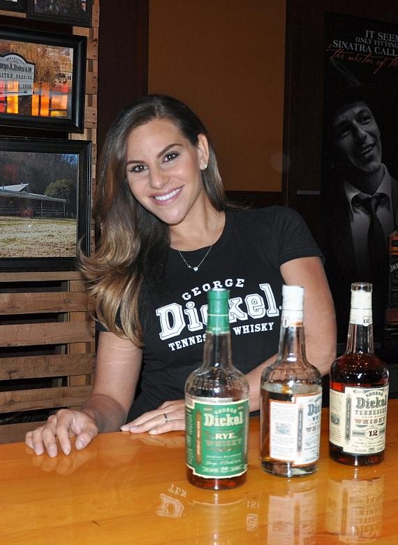George Dickel Booth