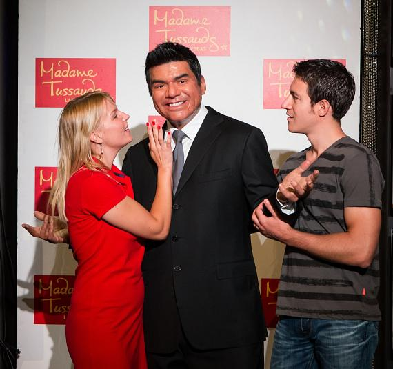 Madame Tussauds unveils George Lopez figure in celebration of National Hispanic Heritage Month