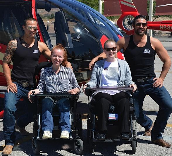 """Australia's """"Thunder From Down"""" Under to the Rescue on Behalf of Variety, The Children's Charity of Southern Nevada, and Papillon Group"""