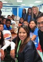 America First Credit Union Donates Turkeys to Gibson Middle School Students During Annual Turkey Trot Event