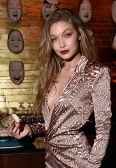Supermodel Gigi Hadid Celebrates Official 21st Birthday at Intrigue Nightclub in Wynn Las Vegas