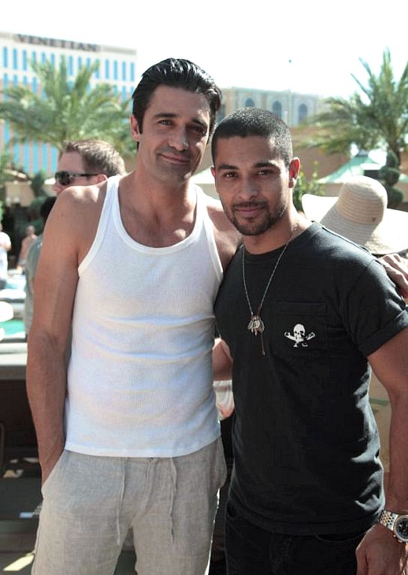 Gilles Marini and Wilmer Valderrama Party at Azure at The Palazzo