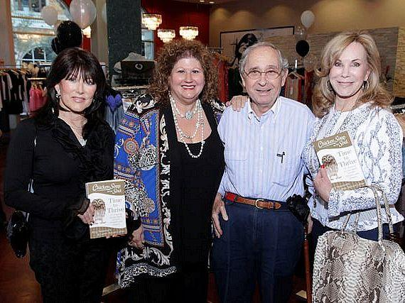 Ginny DePaso, Jaki Baskow, Art Marshall, Bonnie Marshall at CSS Book Launch